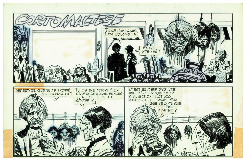 « Corto Maltese : Têtes et champignons » d'Hugo Pratt (1970)