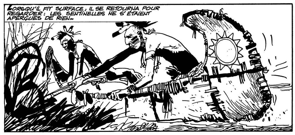 « L'assaut du fort » d'Hugo Pratt (1970)