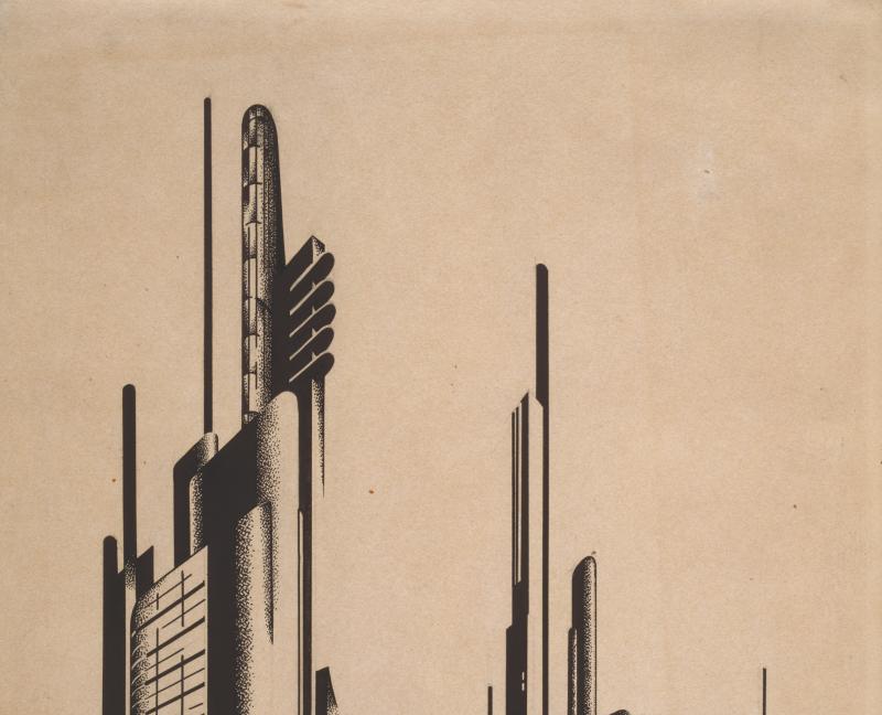 Iakov Guéorgiévitch Tchernikhov Bâtiments industriels, Architecture de l'avant garde russe, Beaux-Arts