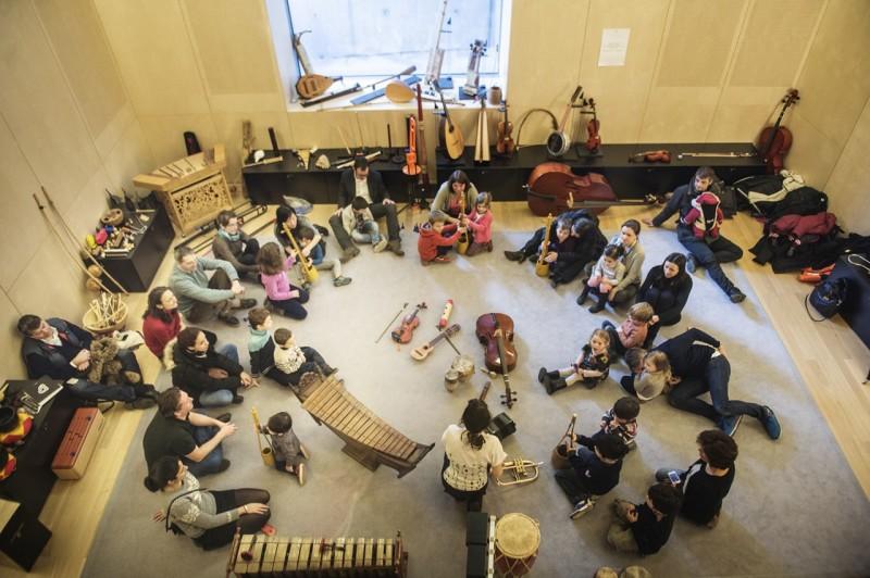 Ateliers enfants Bande-son et bruitages à la Philharmonie de Paris
