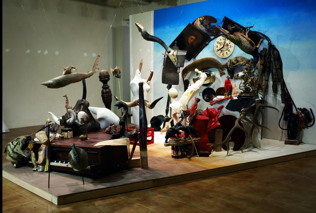 Bernard Pras, Dalí (côté), 2004 - Exposition Bernard Pras au Musée du Touquet-Paris-Plage