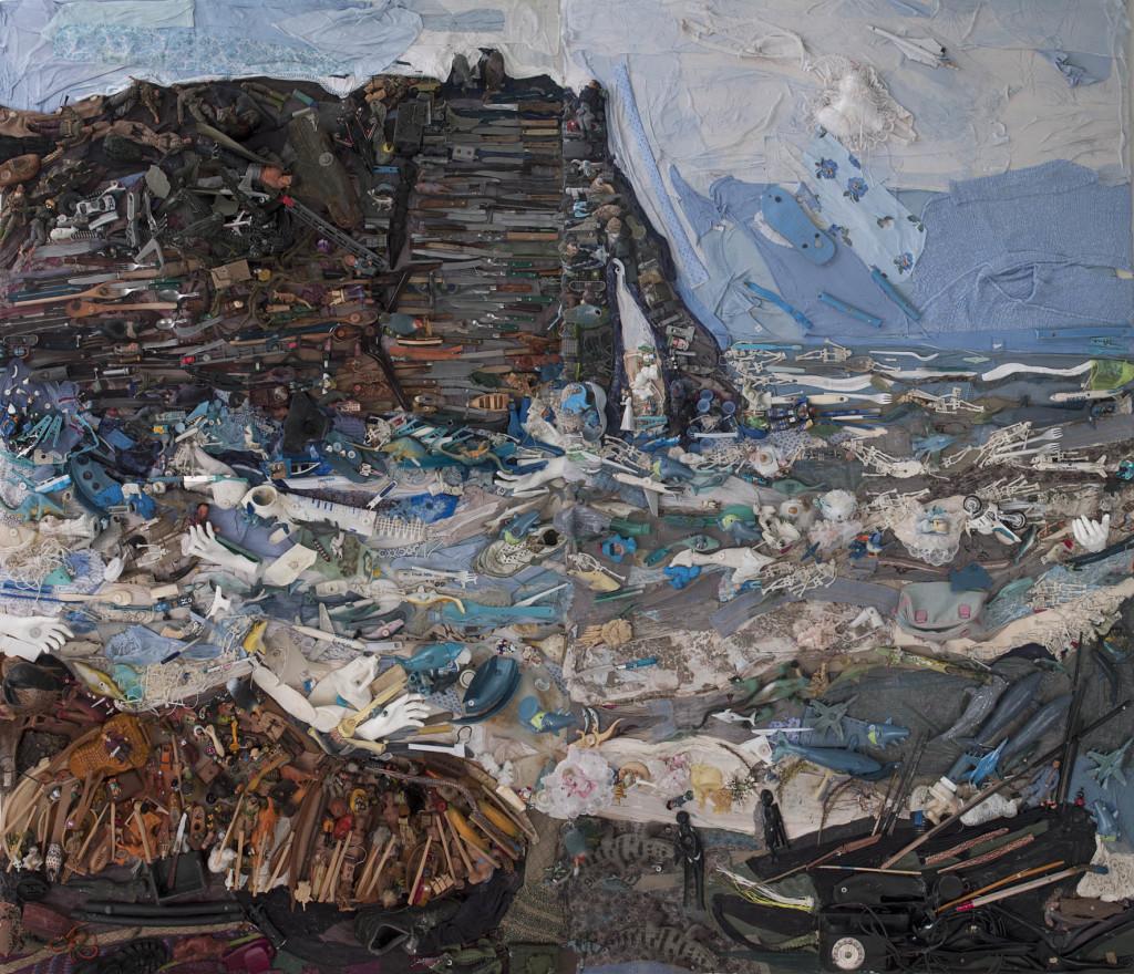 Bernard Pras, Les falaises d'Etretat, 2013 - Exposition Bernard Pras au Musée du Touquet-Paris-Plage
