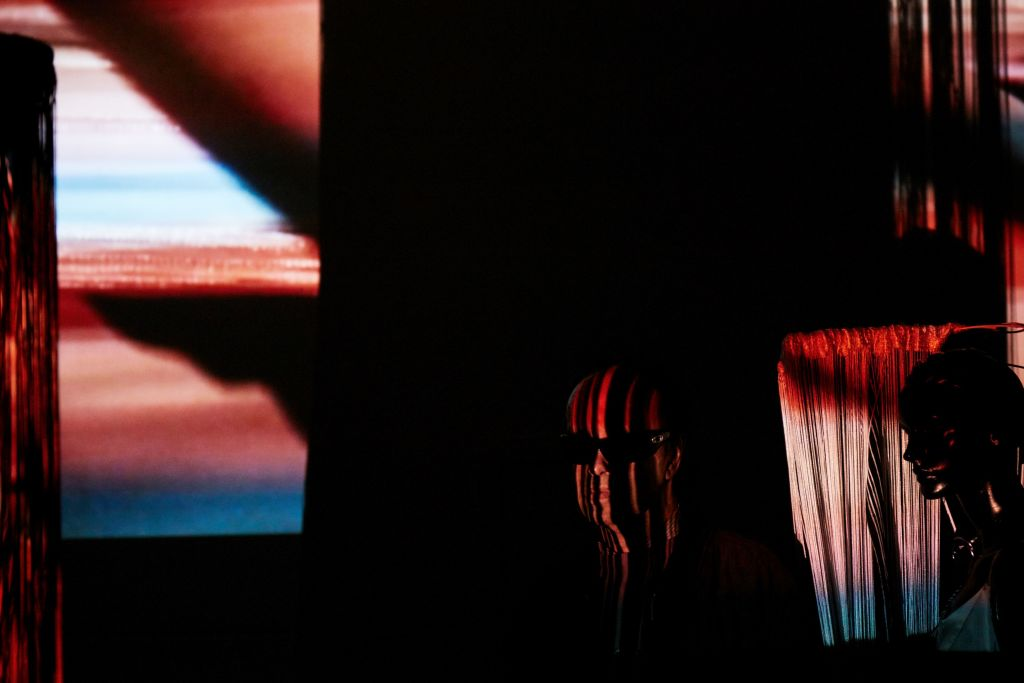Exposition Beyond Seeing, Projet du Goethe Institut, WIP La Villette