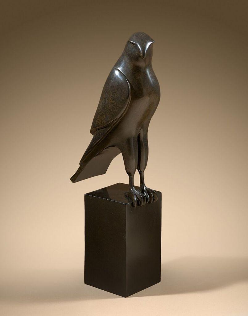 BRIZZI Isabelle Bronze original Faucon