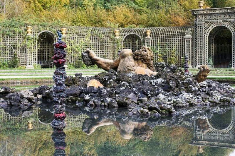 Cameron Jamie, 9 sculptures de la série Spine Station