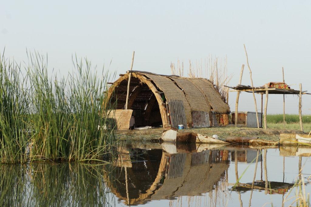 Central, marshes, Sarah Hassan, Ma'Dan, Pavillon de l'Eau