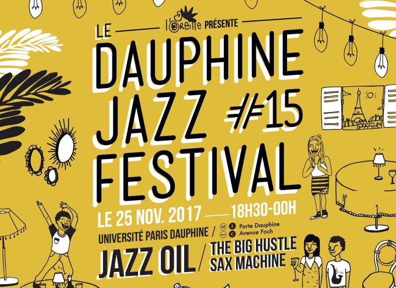 Dauphine Jazz Festival #15 2017