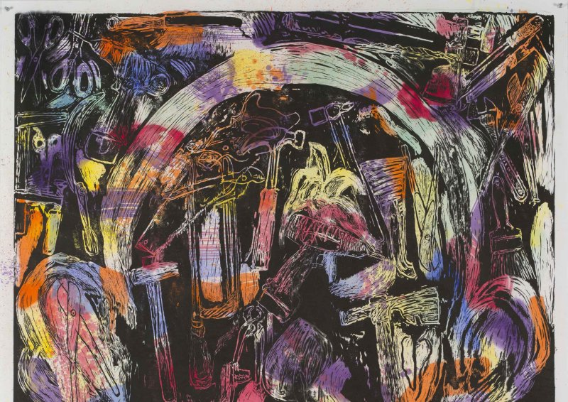 Jim Dine, The Bees and their Merriment, Galerie Templon