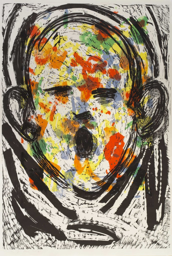 Jim Dine, The Floral Scream, Galerie Templon