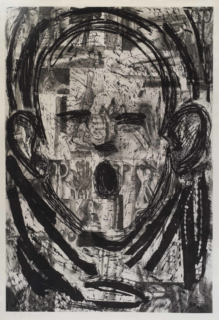 Jim Dine, This Print in the World, Galerie Templon