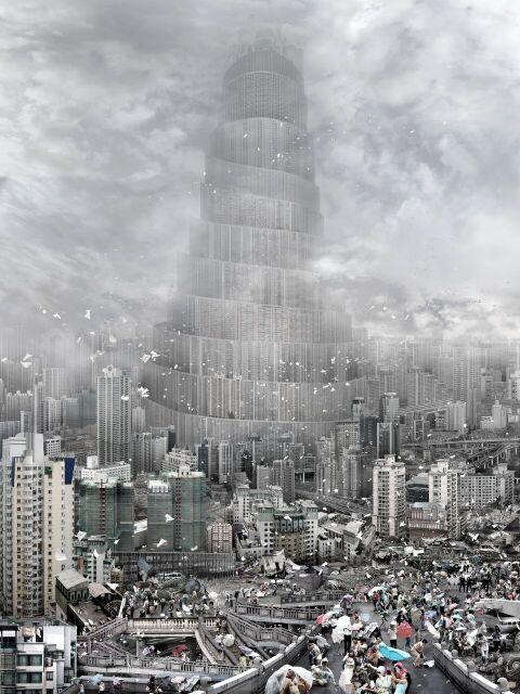 Du Zhenjun, The Wind - Exposition La Belle Vie Numérique à la Fondation EDF