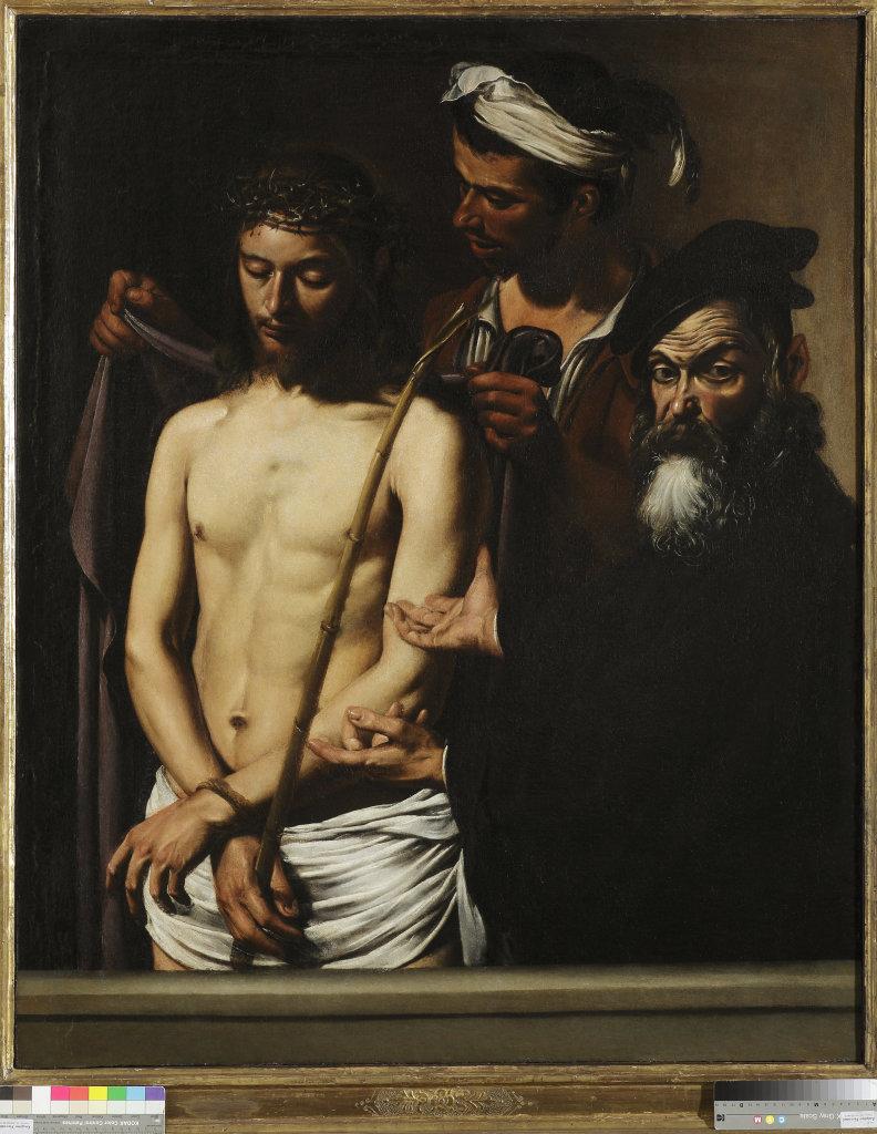 """Caravaggio""""Ecce Homo""""Genova, Musei di strada nuova"""