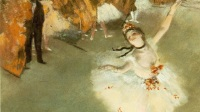 Edgar Degas, Ballet dit aussi L'Étoile, vers 1876