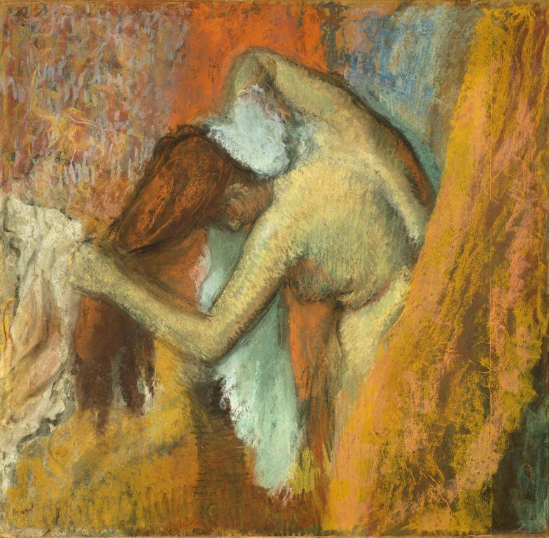 Edgar Degas, Femme à sa toilette, 1900-05