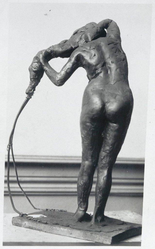 Edgar Degas, Femme se coiffant