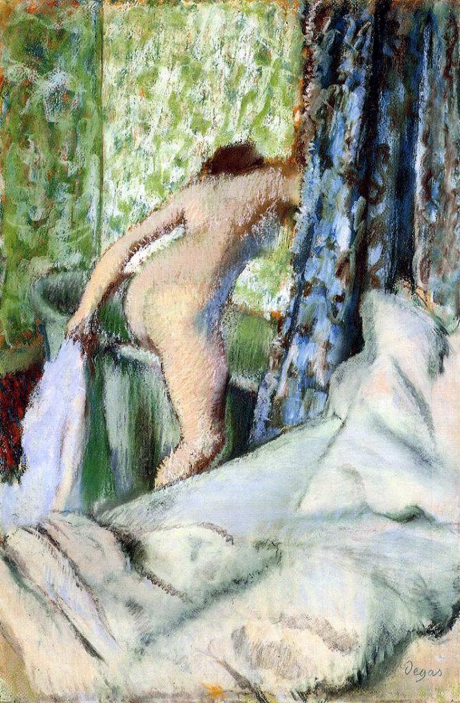 Edgar Degas, Le Bain du Matin, 1883