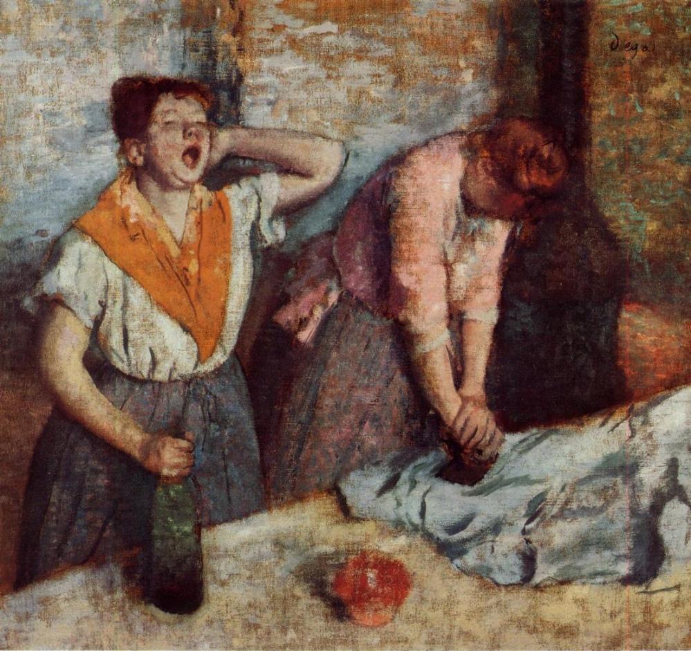 Edgar Degas, Les repasseuses, 1884