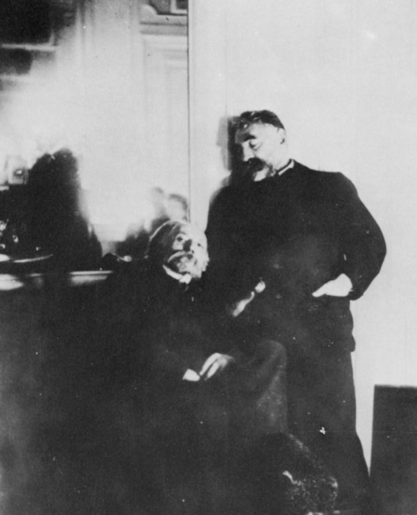 Edgar Degas, Mallarmé et Renoir, 1895