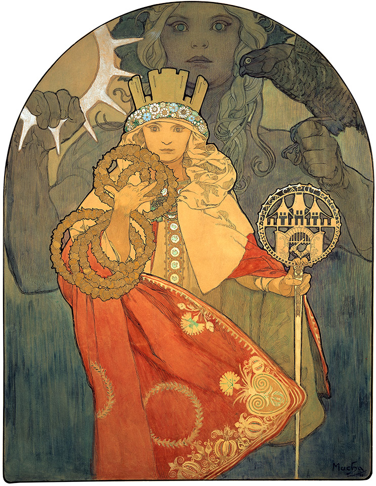 Exposition Alphonse Mucha Au Musée Du Luxembourg Arts In The City