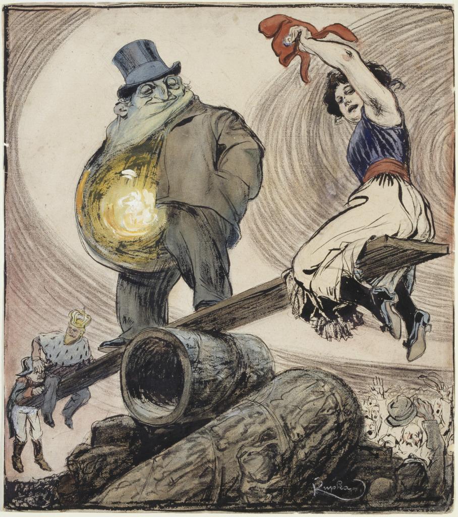 Frantisek Kupka, Balançoire que tout ça, 1901