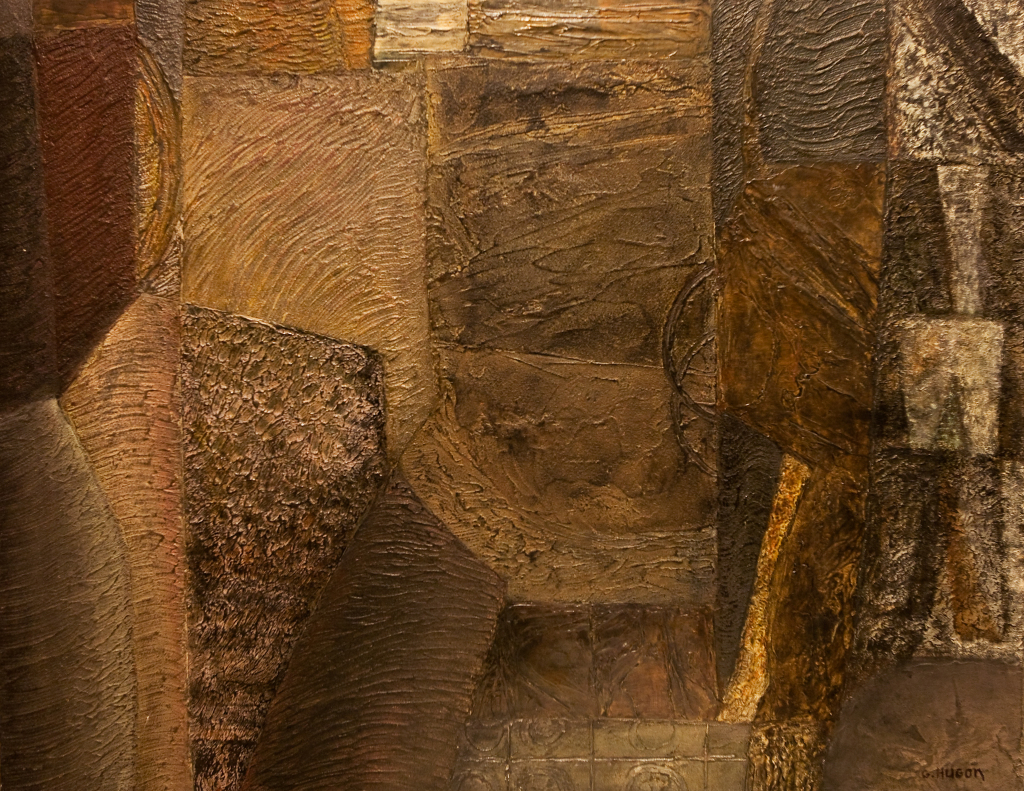 Genevieve Hugo, Le Soir en Essonne, 2001, Galerie Minsky
