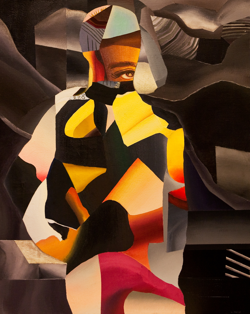Genevieve Hugon, Clin d'Oeil, 1990, Galerie Minsky
