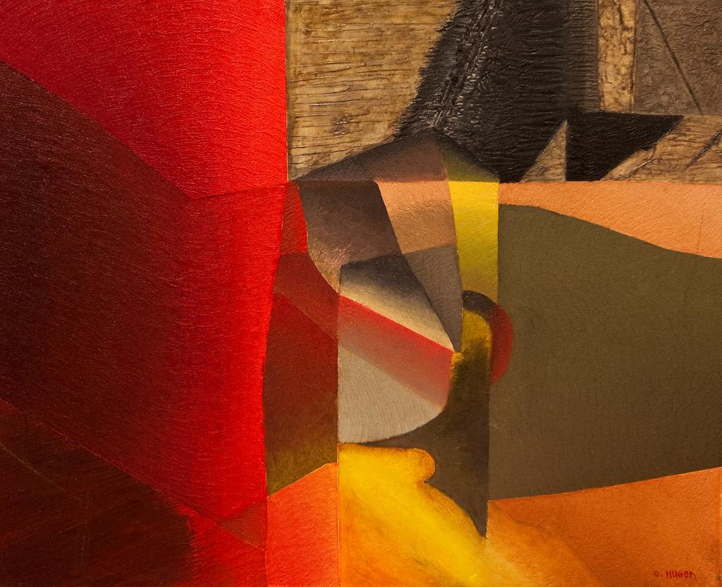 Genevieve Hugon, L'Aube sur Villabé, 2003, Galerie Minsky
