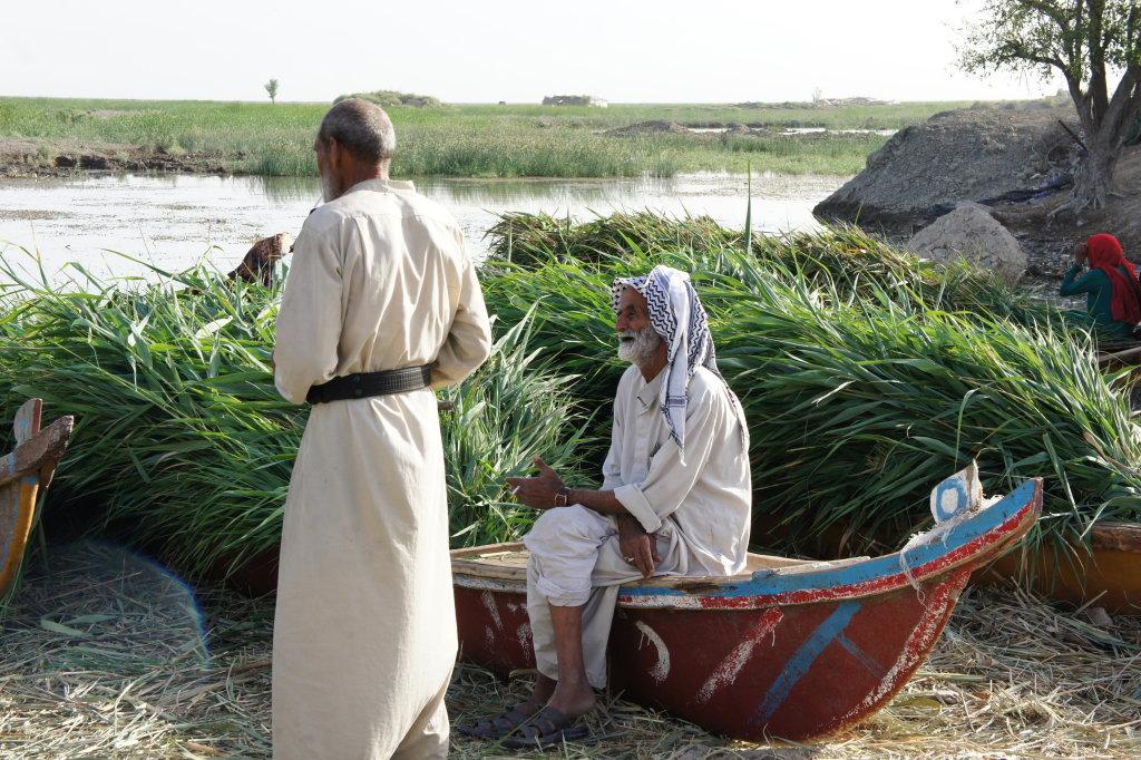 Homme_tarada, Sarah Hassan, Ma'Dan, Pavillon de l'Eau