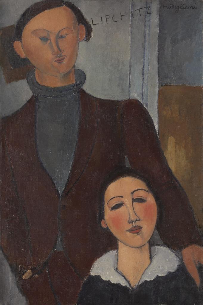 Jacques and Berthe Lipchitz, 1916, Tate Modern, Londres