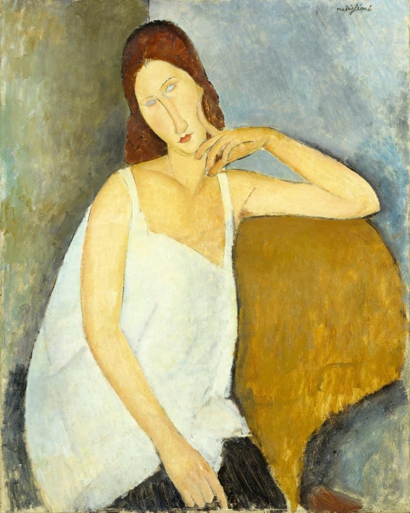 Jeanne Hébuterne, 1919, Tate Modern, Londres