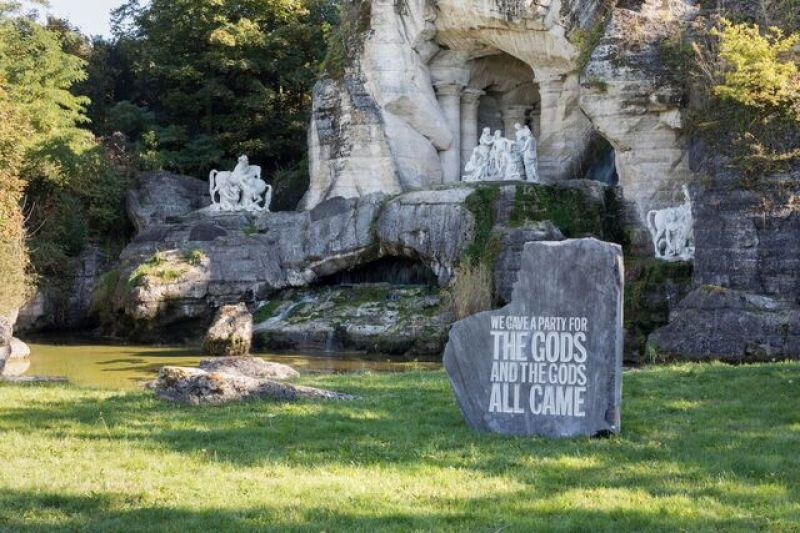 John Giorno, We gave a party for the gods and the gods all came
