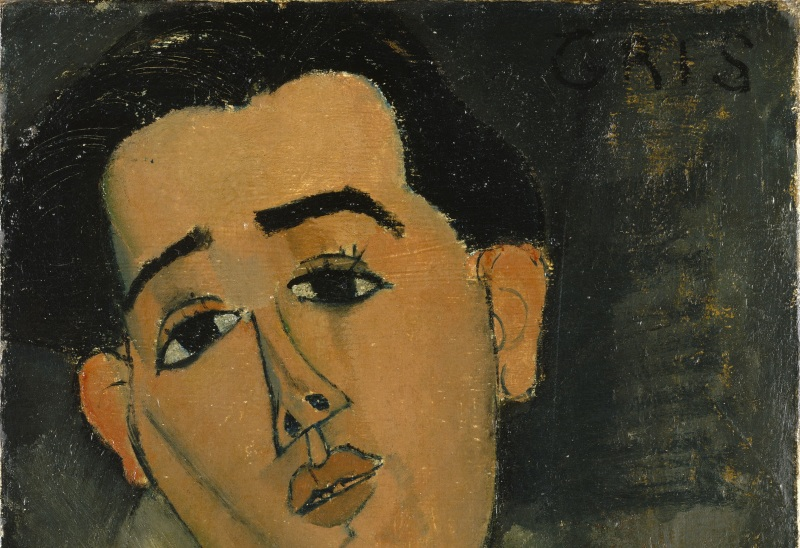 Modigliani, Amedeo (1884-1920): Juan Gris, 1915. New York, Metropolitan Museum of Art*** Permission for usage must be provided in writing from Scala.