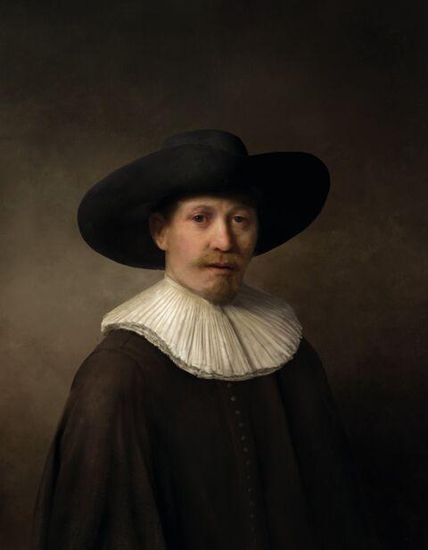 The Next Rembrandt - Exposition La Belle Vie Numérique à la Fondation EDF