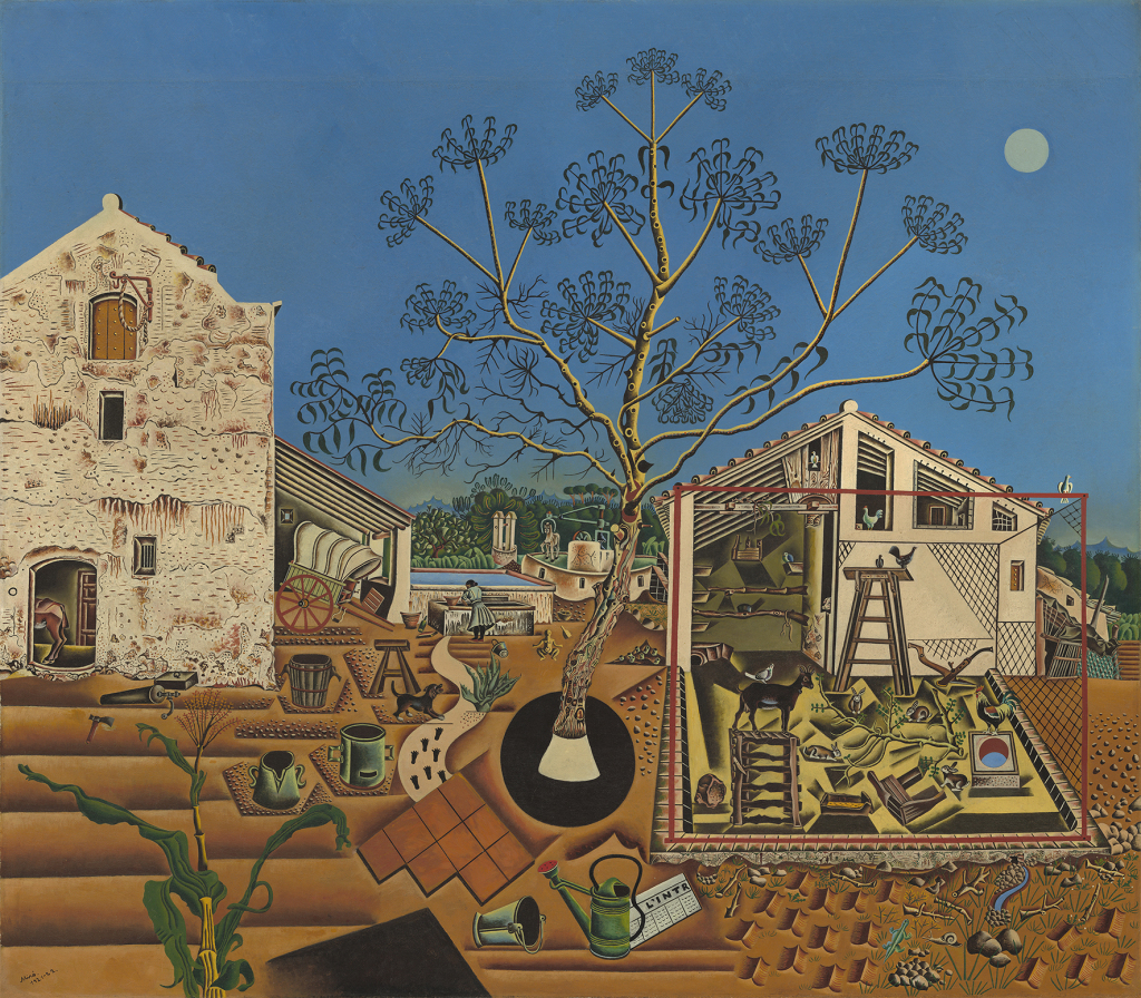 La Ferme - © Successió Miró Adagp, Paris 2018Photo National Gallery of Art, Washington