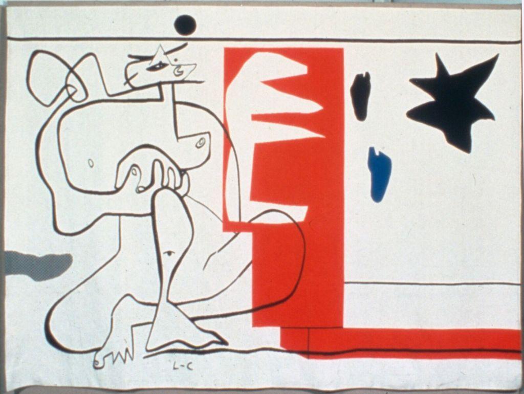 Le Corbusier, Bonjour Calder, 1958