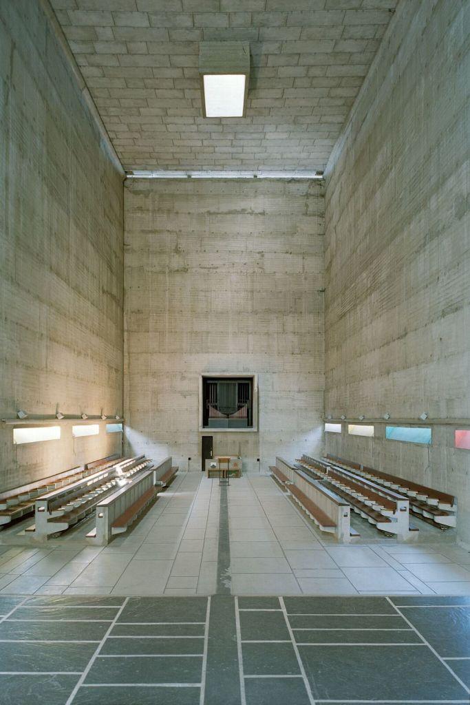 Le Corbusier, Couvent Sainte-Marie de la Tourette, Eveux-sur-l'Arbresle (2)