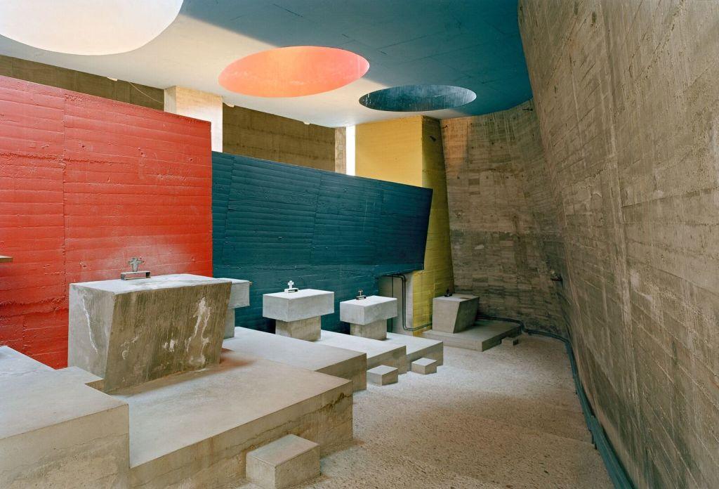 Le Corbusier, Couvent Sainte-Marie de la Tourette, Eveux-sur-l'Arbresle (3)
