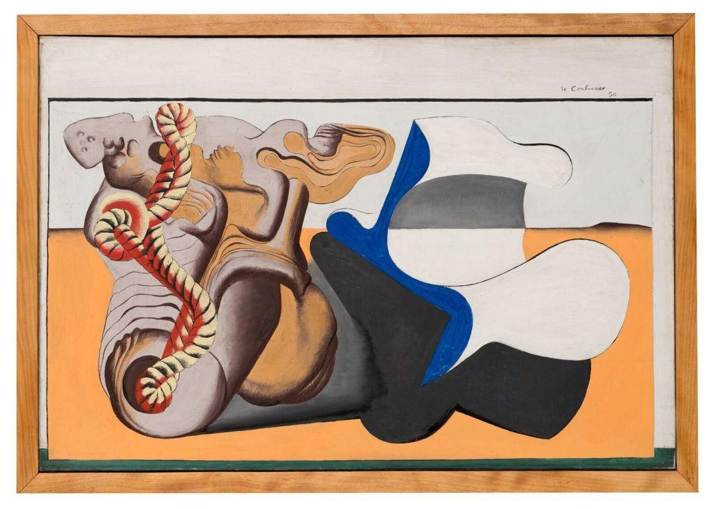 Le Corbusier, Nature morte à la racine et au cordage jaune, 1930