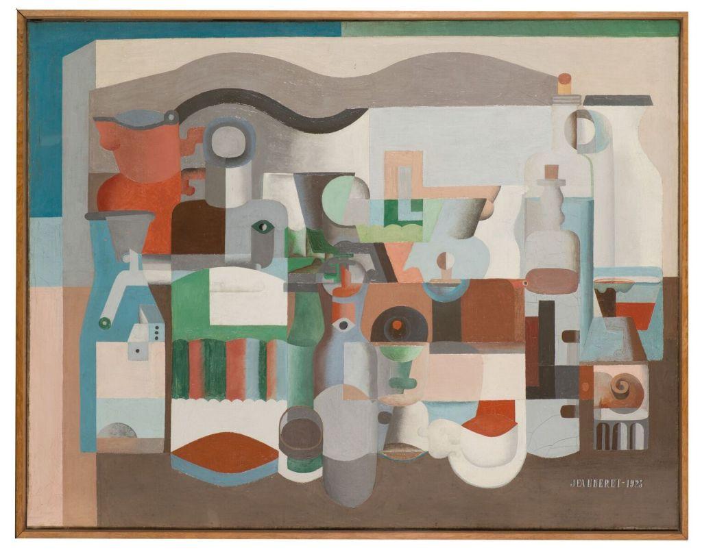 Le Corbusier, Nature morte aux nombreux objets, 1923