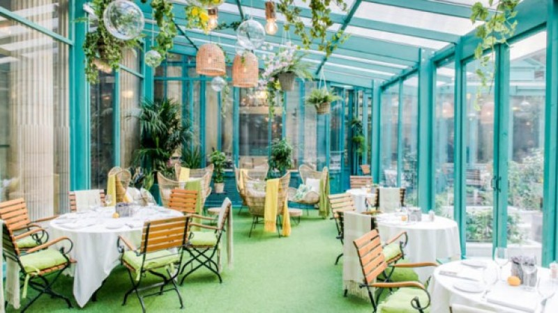 jardin d'hiver, hotel westin, expo in the city