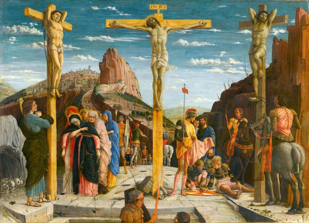 Mantegna, La Crucifixion, 1456-1459