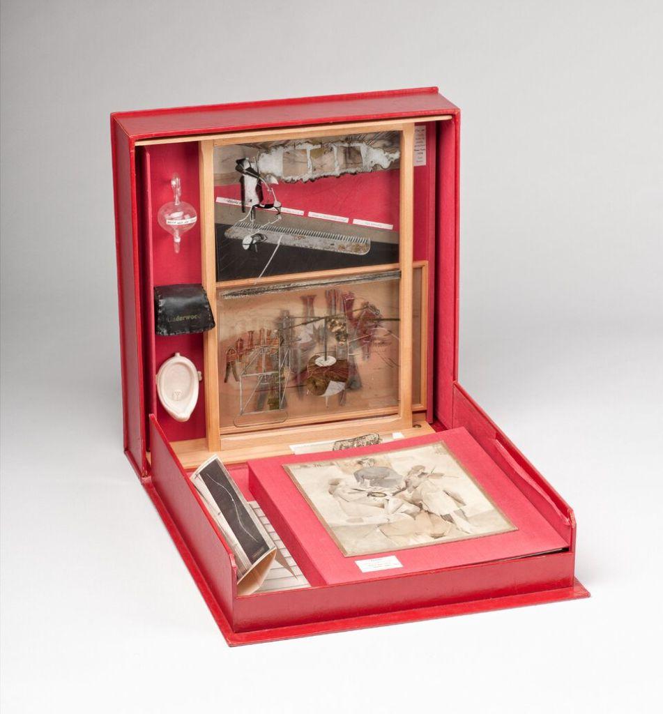 Marcel Duchamp, Boîte-en-valise série F - © RMM Rouen Normandie