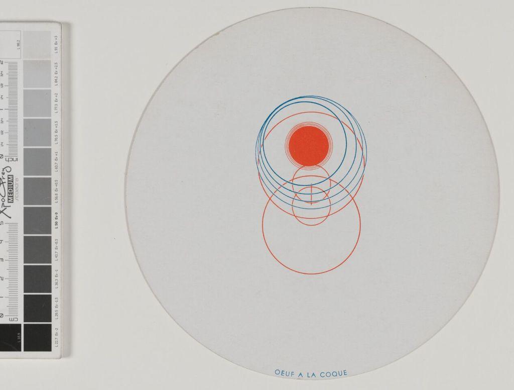 Marcel Duchamp, Disques optiques - © RMM Rouen Normandie 2