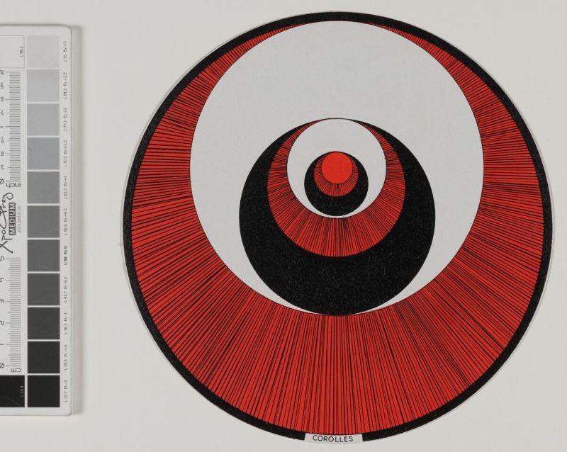 Marcel Duchamp, Disques optiques - © RMM Rouen Normandie 3
