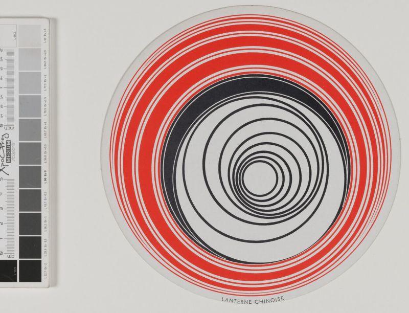 Marcel Duchamp, Disques optiques - © RMM Rouen Normandie