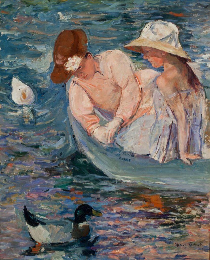 Mary Cassatt, Summertime 1894-95, huile sur toile