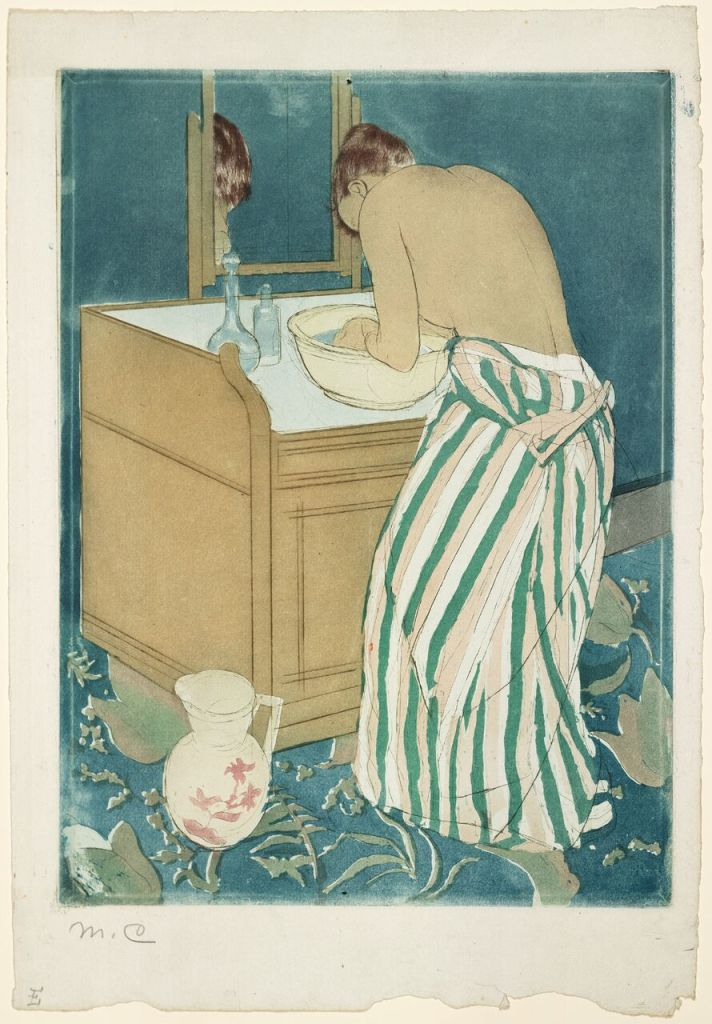Mary Cassatt, Woman bathing
