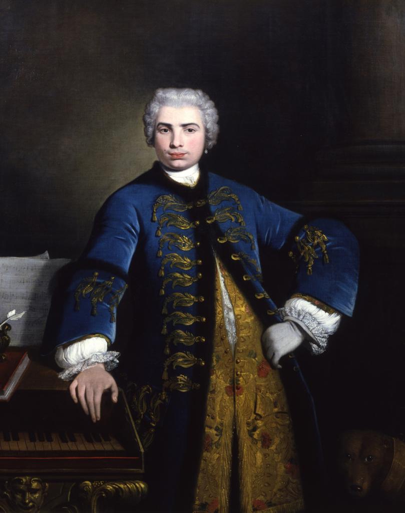 Bartolomeo NAZARI, Portrait de Farinelli, 1734