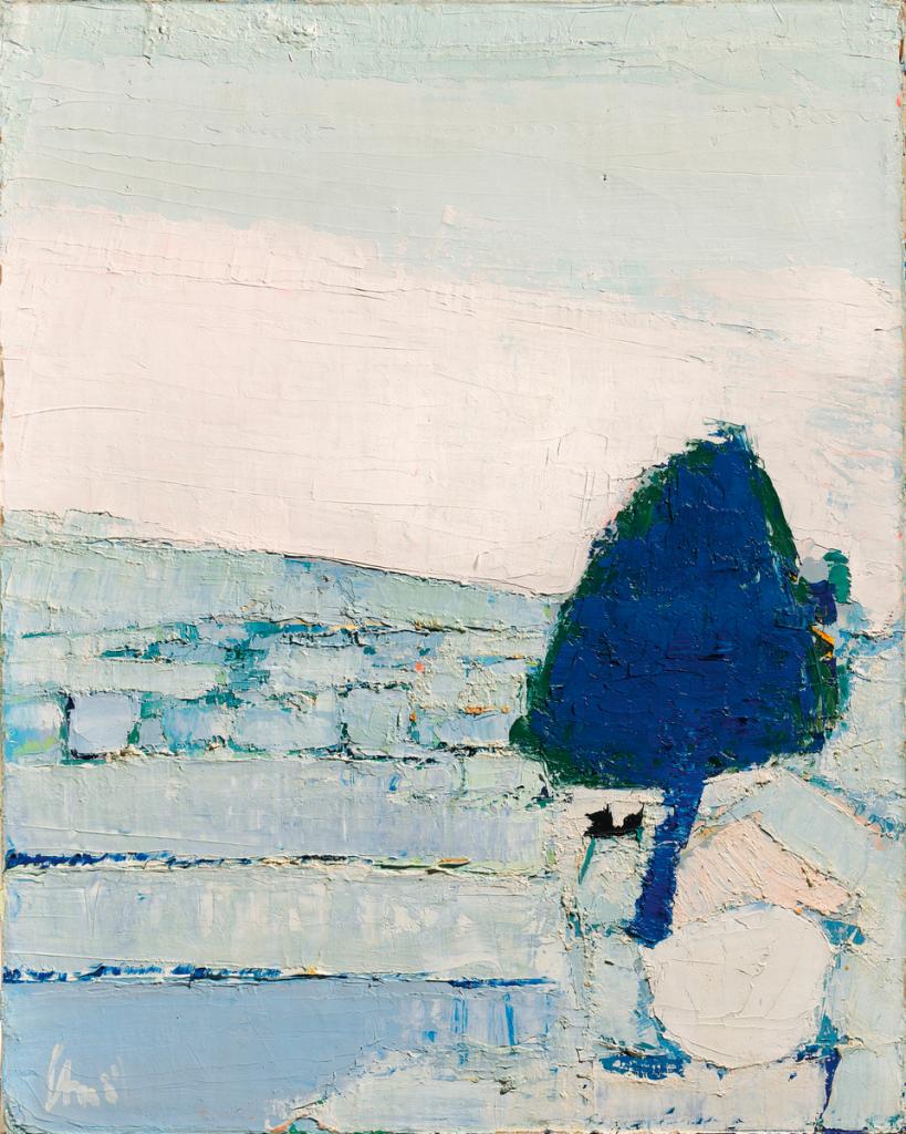 Nicolas de Staël, Paysage de Provence, 1953 bis