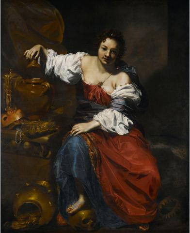 Nicolas Régnier, Allégorie de la Vanité, Musée d'Art de Nantes